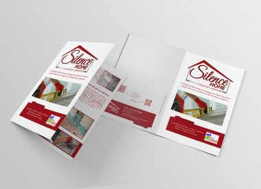 Silence home - mockeup - brochure