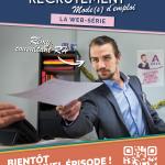 """Affiche de la Web Série """"Recrutement, mode(s) d'emploi"""""""